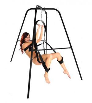 Trinity Ultimate Sex Swing Stand Black