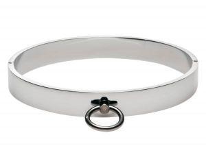 Chrome Slave Collar Medium/Large