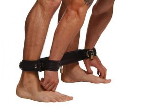 Strict Leather Easy Access Restraints System Black
