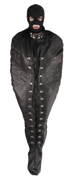 Premium Leather Sleep Sack Large Black
