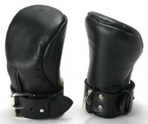 Strict Leather Deluxe Padded Fist Mitts ML