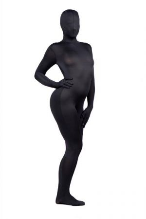 Zentai Full Body Spandex Suit- Black