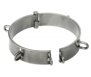 Steel Slave Collar - Clearcoat 5 Inch