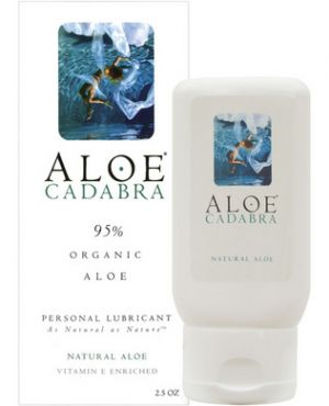 Aloe Cadabra Organic Lube Natural 2.5 oz