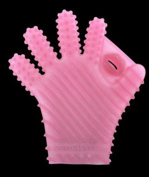 Booty Glove Massage - XS/M - Pink