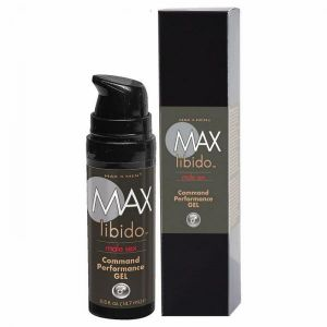 Max Libido Command Performance Gel Unscented .5oz