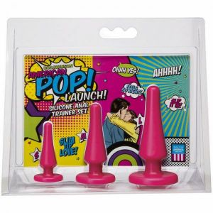American POP! Launch Pink Anal Trainer Set