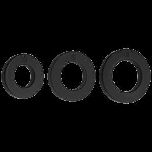 Kink Endure Premium Silicone C-Ring Set Black