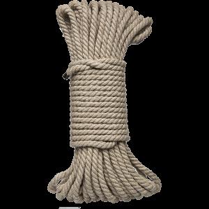 Kink Bind & Tie Bondage Rope 50 Feet Natural