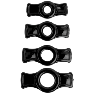 Titanmen Cock Ring Set - Black