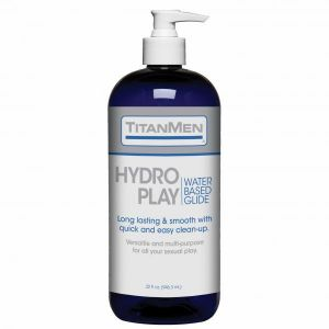 Titanmen Hydro Play Water Based Glide 32 fluid ounces