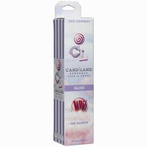 Candiland Glide Red Licorice 4oz