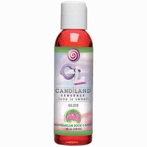 Candiland Glide Watermelon Rock Candy 4oz