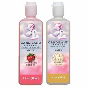 Candiland Glide 2 Pack Strawberry, Whipped Cream