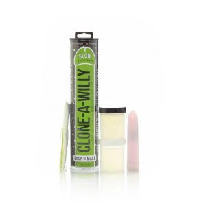 Clone-A-Willy Kit Vibrating Dildo Mold - Glow In The Dark