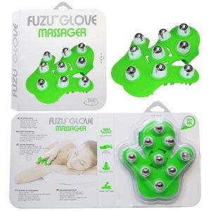 Fuzu Glove Massager Neon Green