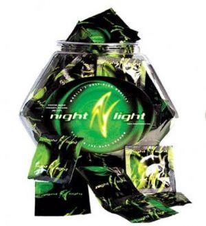 Night Light Glow Condoms Fishbowl