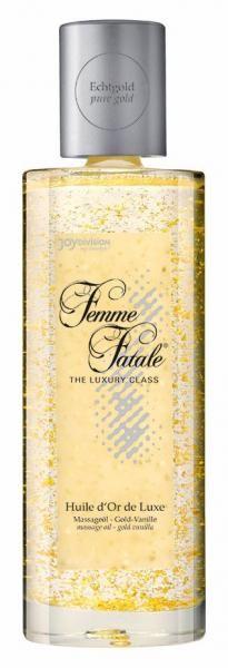 Femme Fatale Huile Dor De Luxe Massage Oil 3.38oz