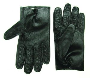 Vampire Gloves Leather Small Black