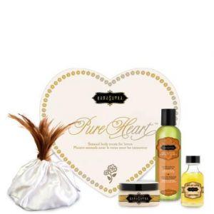 Kama Sutra Pure Heart Massage Kit Vanilla