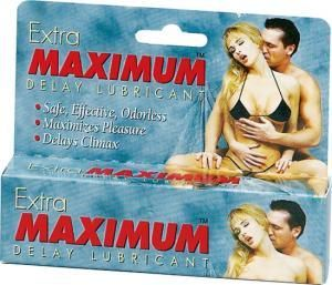 Extra Maximum Delay Lube 1.5 oz