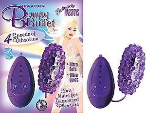 Bumpy Vibrating Bullet Purple