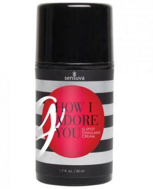 G How I Adore You Cream G-Spot Stimulator 1.7oz