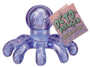 Octo-Pleaser Massager Purple Octopus