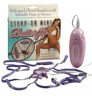 Strap On Mini Butterfly Clitoral Stimulator