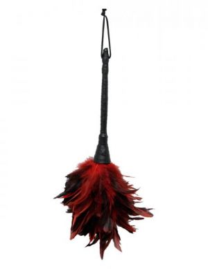 Fetish Fantasy Frisky Feather Duster Red