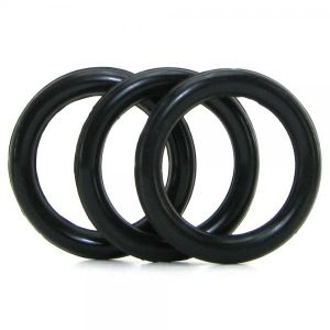 Perfect Fit 3 Ring Kit Mix Black Extra Large