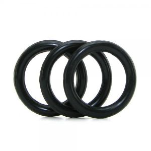 Perfect Fit 3 Ring Kit Mix Black - Medium
