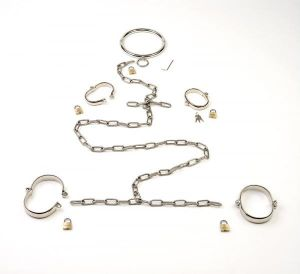Stainless Steel Bondage Set Small