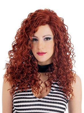 Dare Spiral Curls Brown Wig