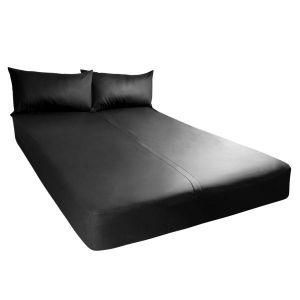 Exxxtreme Sheets Full Size Black 1 Fitted Sheet
