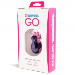 Sqweel Go Oral Sex Massager Purple