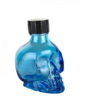 Liquid Latex Sparkle Body Glitter Blue Skull 1oz
