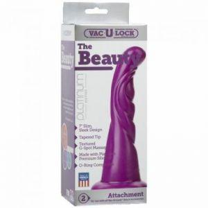 The Beauty Silicone Attachment  - Purple