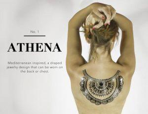 Athena Body Tattoo