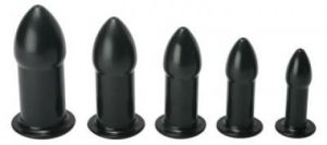 Ease In Anal Dilator Kit Black