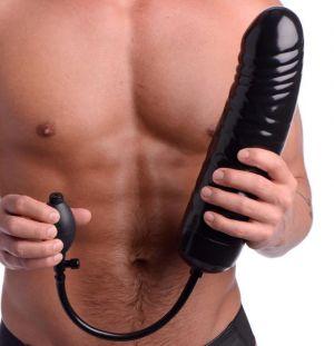 XXL Inflatable Dildo Black