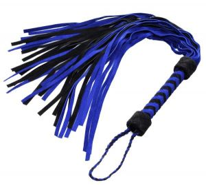 Black And Blue Suede Flogger Bulk