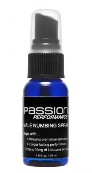 Passion Performance Stamina Spray Maximum Lidocaine