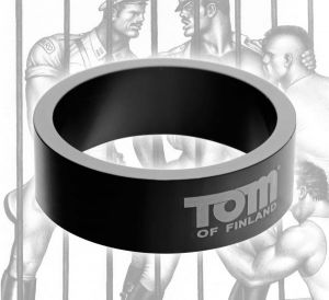 Tom Of Finland Aluminum Cock Ring 50mm