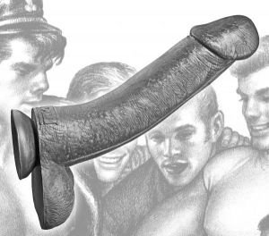 Tom Of Finland Kake Cock 12 Inches Silicone Dildo