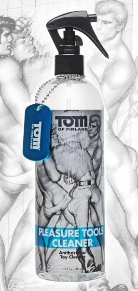 Tom Of Finland Pleasure Tools Cleaner 16oz