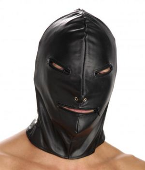 Strict Leather Basic Zipper Hood Black