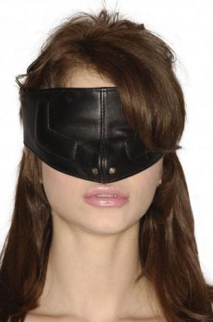 Strict Leather Upper Face Mask-S/M