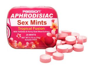 Tropical Fusion Aphrodisiac Sex Mints