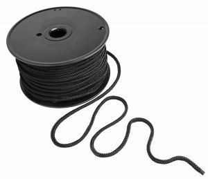 Black Bondage Rope 200 Feet Spool